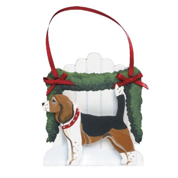 Picket Fence Dog Breed Ornament