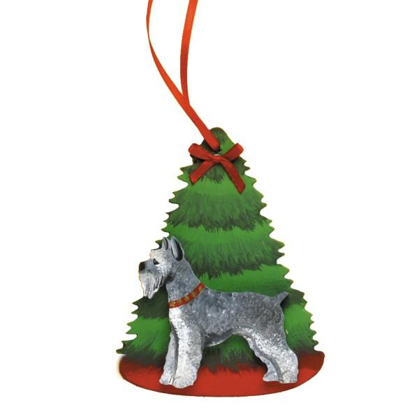 Holiday Pine Tree Dog Breed Ornament