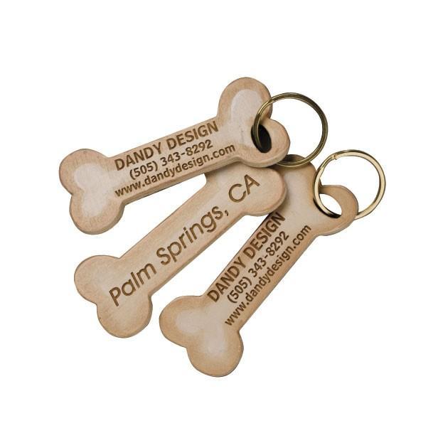 Personalized Dog Bone Key-Rings