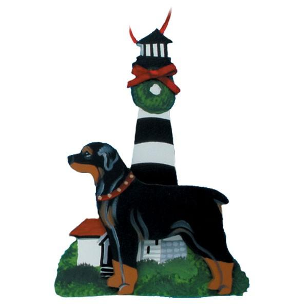 Lighthouse Dog Breed Ornament