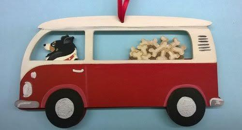 Houndswagen Bus Dog Breed Ornament. Bushel of Bones