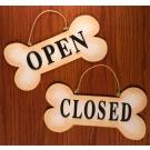 "12"" Open/Closed Bone Sign"